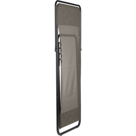 Lafuma Mobilier Maxi Transat Bain de soleil avec Cannage Phifertex, graphite